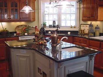 Raleigh, North Carolina Kitchen Countertop in Granite